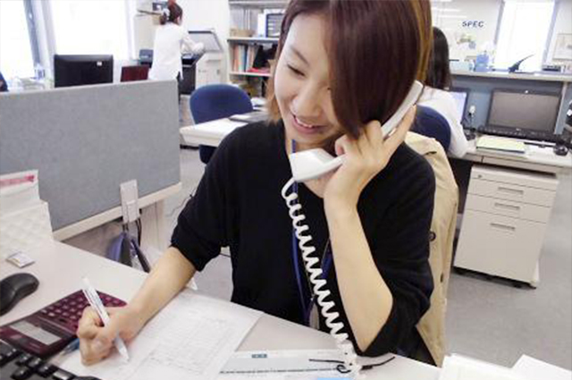 <時短契約入社3年目・ビジネスサービス部門サブリーダー(人事総務担当)>